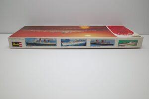 プラモデル 船 Revell 1-495 レベル 豪華客船 オリアナ S.S. ORIANA の外箱(2)