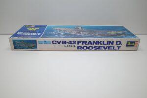 プラモデル 船 Revell 1-540 レベル CVB42 USS フランクリンルーズベルト の (5)