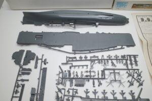 プラモデル 船 Revell 1-540 レベル CVS-18 ワスプ アメリカ 米 空母 USS WASP のパーツ展開図(1)