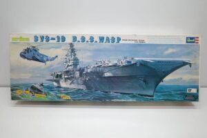 プラモデル 船 Revell 1-540 レベル CVS-18 ワスプ アメリカ 米 空母 USS WASP (1)