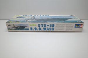 プラモデル 船 Revell 1-540 レベル CVS-18 ワスプ アメリカ 米 空母 USS WASP (4)