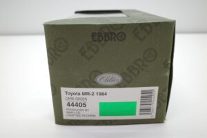 ミニカー エブロ 1-43 トヨタ MR2 (AW11) 444025 MR-2 ダークグリーン 1984 深緑 toyota (1)