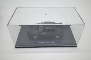 ミニカー エブロ 1-43 トヨタ MR2 (AW11) 444025 MR-2 ダークグリーン 1984 深緑 toyota (6)
