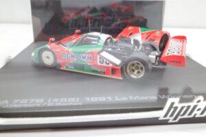 ミニカー 937 hpi・ racing 1-43 マツダ Mazda 787B LM 24h 1991 Winner (10)