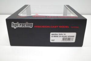 ミニカー 937 hpi・ racing 1-43 マツダ Mazda 787B LM 24h 1991 Winner (4)