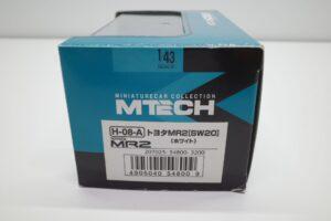 ミニカー M TECH エムテック 1-43 トヨタ MR2 SW20 H-08-A 白 ホワイト toyota MR-2 エポック社 (12)