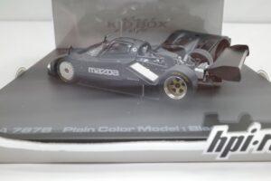 ミニカー hpi・ racing 988 1-43 マツダ MAZDA 787B プレーン PlainColor 黒 Black PRECISION CAST MO (15)