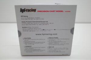 ミニカー hpi・ racing 988 1-43 マツダ MAZDA 787B プレーン PlainColor 黒 Black PRECISION CAST MO (20)
