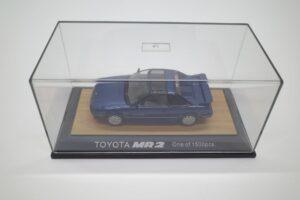 ミニカー tosa トサ 1-43 トヨタ MR2 AW11 MR-2 ブルー Blue 青 Super charger toyota (3)