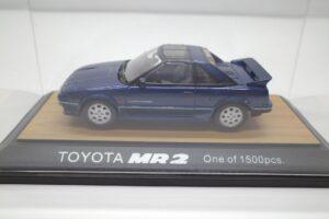 ミニカー tosa トサ 1-43 トヨタ MR2 AW11 MR-2 ブルー Blue 青 Super charger toyota (4)