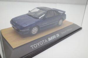 ミニカー tosa トサ 1-43 トヨタ MR2 AW11 MR-2 ブルー Blue 青 Super charger toyota (6)