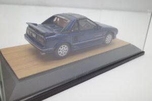 ミニカー tosa トサ 1-43 トヨタ MR2 AW11 MR-2 ブルー Blue 青 Super charger toyota (8)
