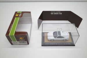 ミニカー tosa トサ 1-43 トヨタ MR2 GT-S SW20 IV型 1996 白 ホワイト toyota MR-2 (1)