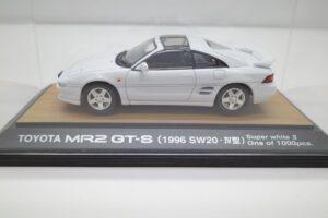 ミニカー tosa トサ 1-43 トヨタ MR2 GT-S SW20 IV型 1996 白 ホワイト toyota MR-2 (4)