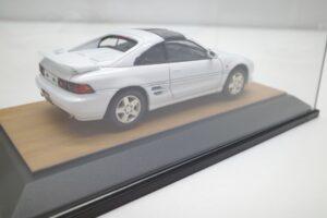 ミニカー tosa トサ 1-43 トヨタ MR2 GT-S SW20 IV型 1996 白 ホワイト toyota MR-2 (6)