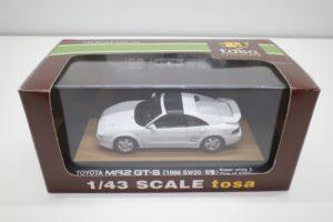 ミニカー tosa トサ 1-43 トヨタ MR2 GT-S SW20 IV型 1996 白 ホワイト toyota MR-2 (8)