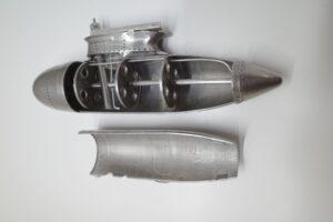 デアゴスティーニ 1-16 零戦をつくるパーツ-金属製の燃料タンク (9)