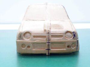 マニアモデルファイル 愛車 旧規格 HA21S-HB11S スズキ アルトワークス の自作 ミニカー 模型作り – 2020-12-前半の進歩状況- (1)_rs