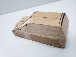 マニアモデルファイル 愛車 旧規格 HA21SHB11S スズキ アルトワークス の自作 ミニカー 模型作り – フロントウインドウの削り追加 – 01