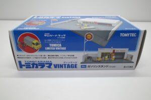ミニカー 1-64 トミカラマ ヴィンテージ 02a GS ガソリンスタンド ( シェル ) Shell サンバートラック付 トミカリミテッド TLV (1 (3)