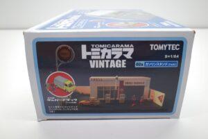 ミニカー 1-64 トミカラマ ヴィンテージ 02a GS ガソリンスタンド ( シェル ) Shell サンバートラック付 トミカリミテッド TLV (1 (6)