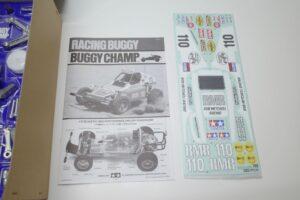 タミヤ 1-10 電動RC 復刻版 レーシング バギーチャンプ (2009) ラジコン Racing Buggy Champ- (4)