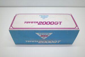 トヨタ Toyota 2000GT 卓上 レトロ シガレットケース煙草 タバコ 入れ- (1)