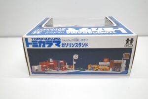 トミカラマ 三菱石油 ガソリンスタンド GS 旧 トミー 日本製 北町給油所 他- (4)