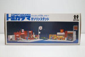 トミカラマ 三菱石油 ガソリンスタンド GS 旧 トミー 日本製 北町給油所 他- (5)