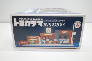 トミカラマ 三菱石油 ガソリンスタンド GS 旧 トミー 日本製 北町給油所 他- (6)