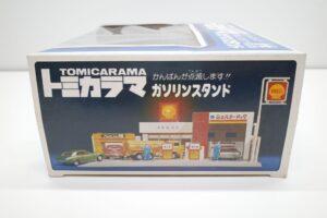 トミカラマ シェル/三菱石油 ガソリンスタンド GS 旧 トミー 日本製 北町給油所 他- (7)