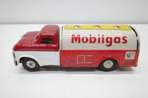 アサヒ トーイ 玩具 シボレー モービル ガス タンカー ATC ブリキ ミニカー- (10)