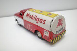 アサヒ トーイ 玩具 シボレー モービル ガス タンカー ATC ブリキ ミニカー- (11)