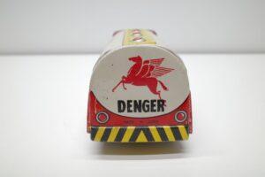アサヒ トーイ 玩具 シボレー モービル ガス タンカー ATC ブリキ ミニカー- (12)