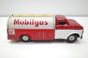 アサヒ トーイ 玩具 シボレー モービル ガス タンカー ATC ブリキ ミニカー- (14)