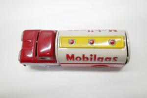 アサヒ トーイ 玩具 シボレー モービル ガス タンカー ATC ブリキ ミニカー- (19)