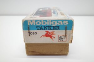 アサヒ トーイ 玩具 シボレー モービル ガス タンカー ATC ブリキ ミニカー- (4)