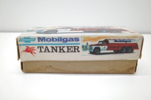 アサヒ トーイ 玩具 シボレー モービル ガス タンカー ATC ブリキ ミニカー- (5)