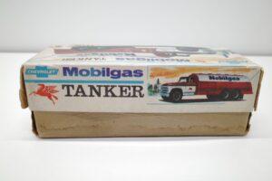 アサヒ トーイ 玩具 シボレー モービル ガス タンカー ATC ブリキ ミニカー- (6)