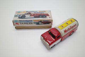 アサヒ トーイ 玩具 シボレー モービル ガス タンカー ATC ブリキ ミニカー- (7)