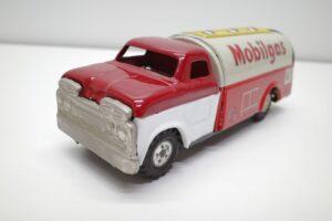 アサヒ トーイ 玩具 シボレー モービル ガス タンカー ATC ブリキ ミニカー- (9)