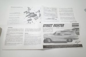 モノグラム 1-24 Street Fighter ストリートファイター- (11)