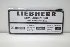 YCCモデル 1-50 LIEBHERR LTM 1400 Franz Bracht KG 仕様 リープヘル – (16)