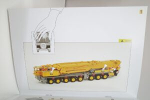 YCCモデル 1-50 LIEBHERR LTM 1400 Franz Bracht KG 仕様 リープヘル – (45)