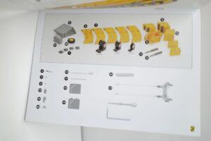 YCCモデル 1-50 LIEBHERR LTM 1400 Franz Bracht KG 仕様 リープヘル – (46)