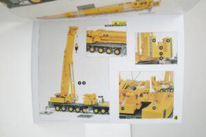YCCモデル 1-50 LIEBHERR LTM 1400 Franz Bracht KG 仕様 リープヘル – (48)