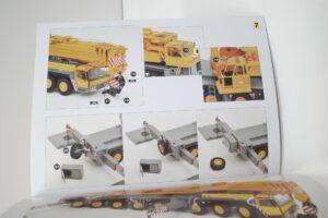 YCCモデル 1-50 LIEBHERR LTM 1400 Franz Bracht KG 仕様 リープヘル – (51)