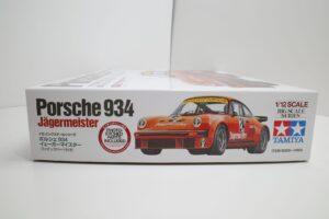 タミヤ 1-12 Porsche ポルシェ 934 イェーガーマイスター (エッチングパーツ付き)- (1 (3)