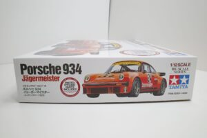 タミヤ 1-12 Porsche ポルシェ 934 イェーガーマイスター (エッチングパーツ付き)- (1 (4)