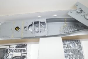 ARII アリイ 1-250 日本海軍 戦艦 大和 フルディスプレイモデル- (29)